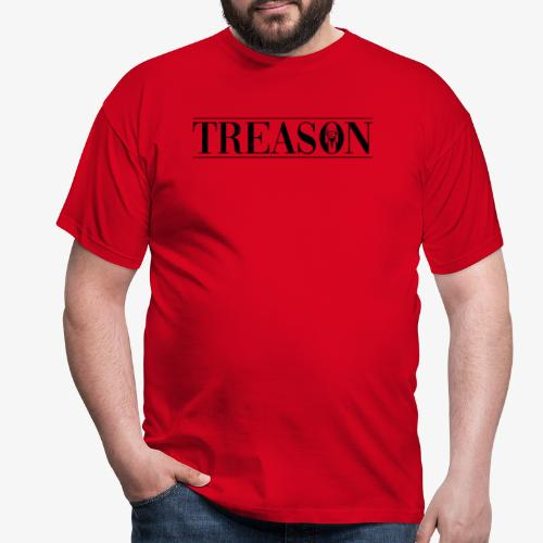 Treason - Donald Trump - Herre-T-shirt