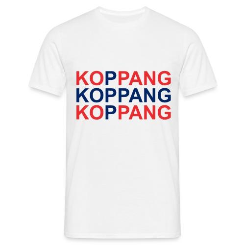 KOPPANG flagg - T-skjorte for menn