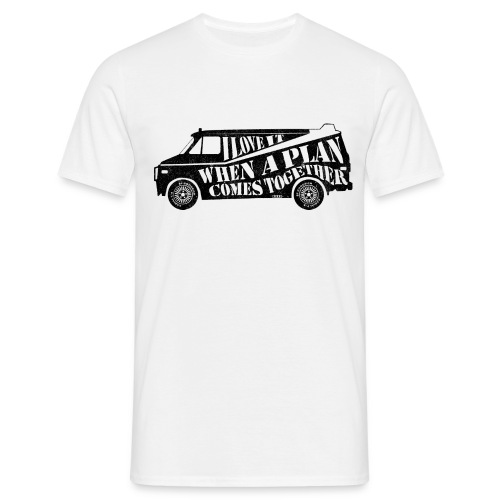 A Team Van Quote - Men's T-Shirt