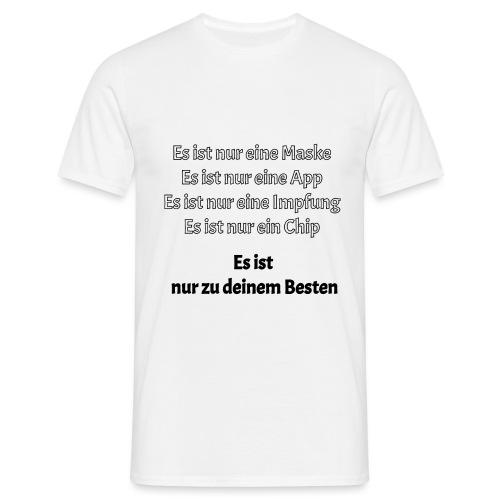 zum Besten - Männer T-Shirt