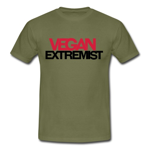 Vegan Extremist - T-shirt Homme