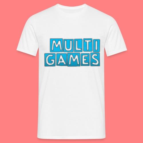 Multi Games blauw - Mannen T-shirt