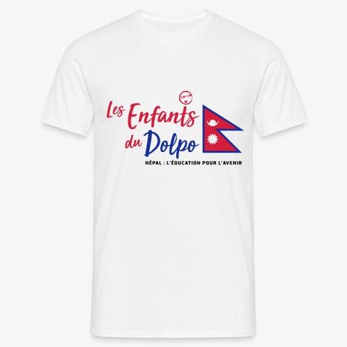 Les Enfants du Doplo - Grand Logo Centré - T-shirt Homme