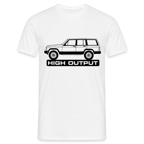 Jeep XJ High Output - Autonaut.com - Men's T-Shirt