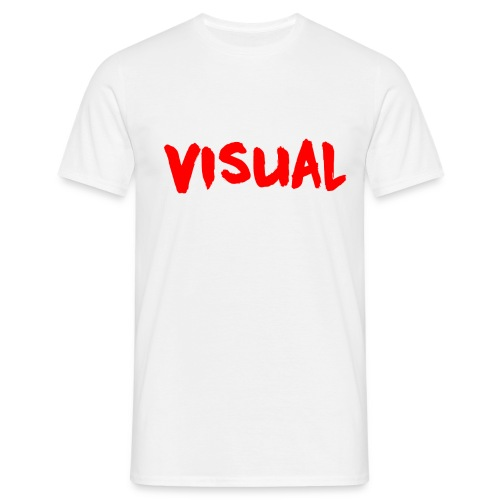 Visual red png - Men's T-Shirt