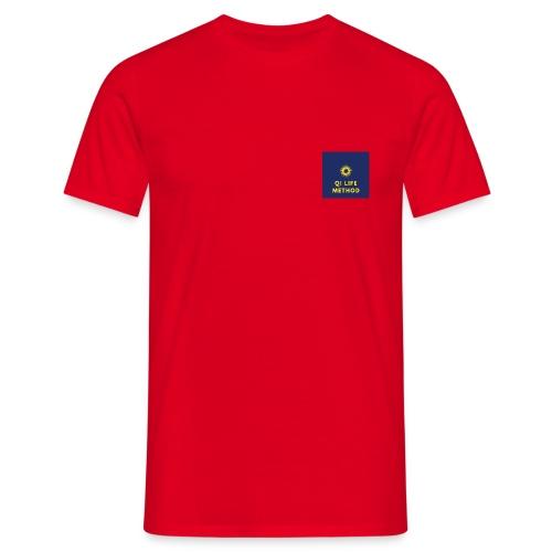 The Qi Life Method Sunlife Logo - Men's T-Shirt