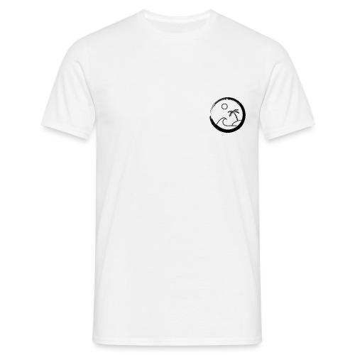 The big surf wave (black) - T-shirt Homme