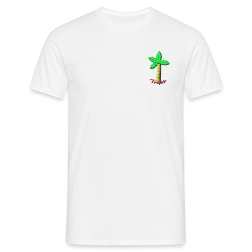 Tropic Palm - T-skjorte for menn