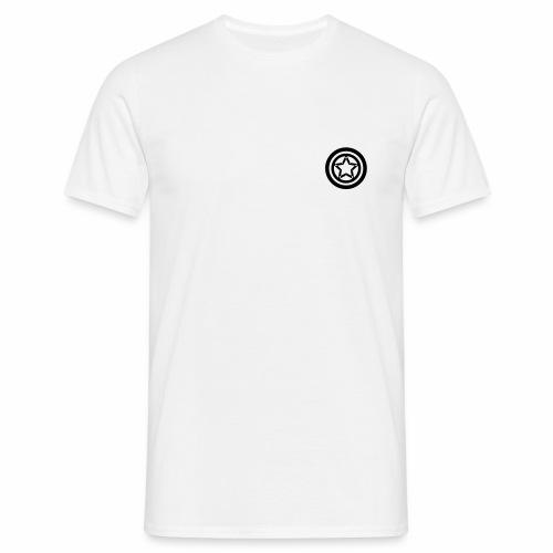 Kreise und Stern - Männer T-Shirt