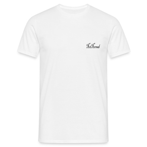 NotNormal T_shirt - T-skjorte for menn