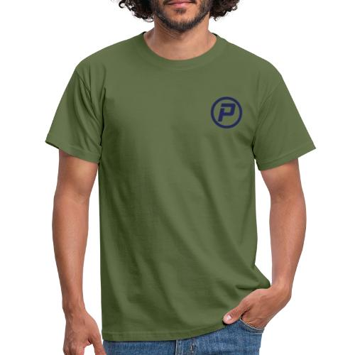 Polaroidz - Small Logo Crest | Dark Blue - Men's T-Shirt