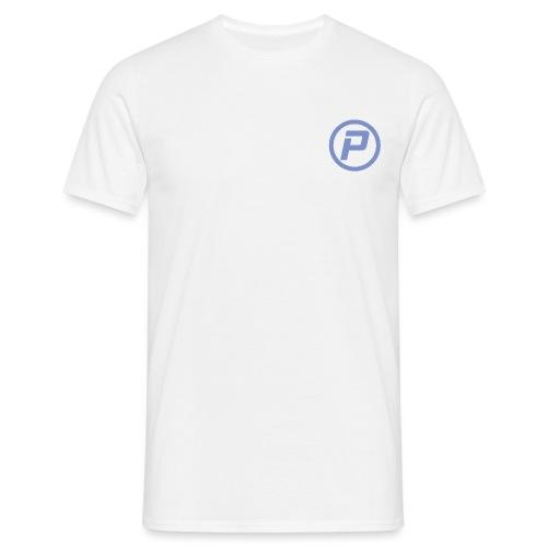 Polaroidz - Small Logo Crest | Light Blue - Men's T-Shirt