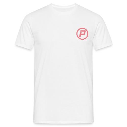 Polaroidz - Small Logo Crest | Pink - Men's T-Shirt