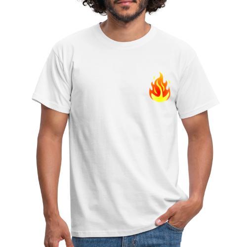 FLAME T SHIRT - Maglietta da uomo