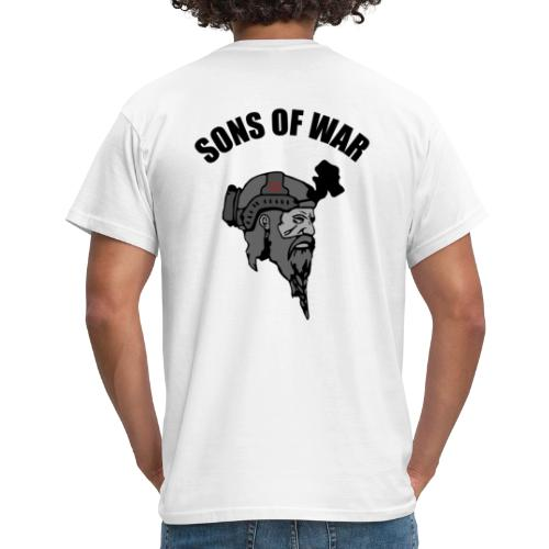 Sons of War oven - Herre-T-shirt