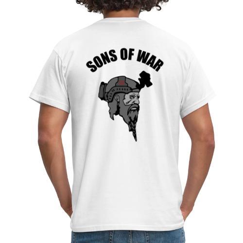 Sons of War oven - Herre-T-shirt
