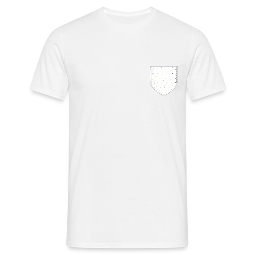 t-shirt poche triangle - T-shirt Homme