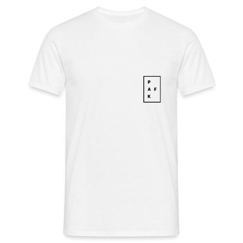 Pak.Af /// WIT - Mannen T-shirt