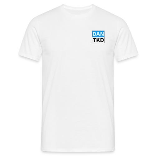 dan tkd logo large jpg - Men's T-Shirt