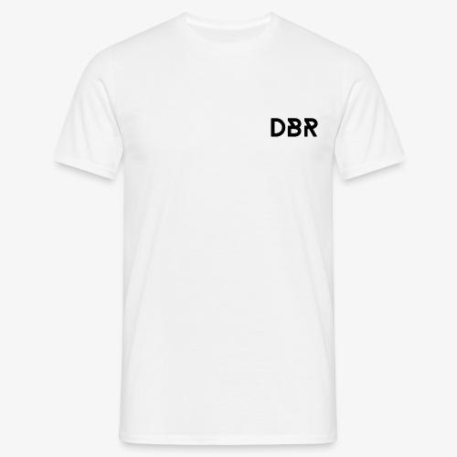 DBR Schriftzug png - Männer T-Shirt