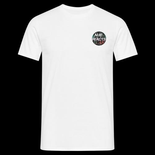 Twin logo breakdown bomb & logo - Men's T-Shirt