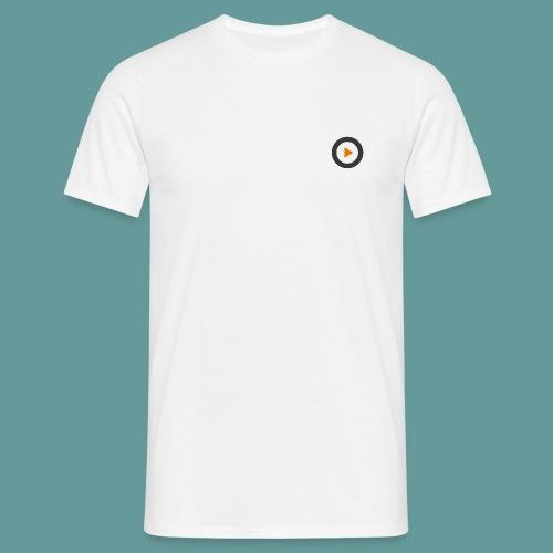 Projekt-Ohr bedruckte Vorder- und Rückseite - Männer T-Shirt