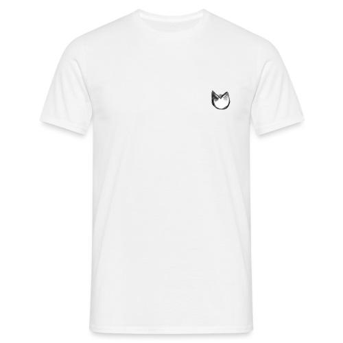dog/cat head - T-shirt herr