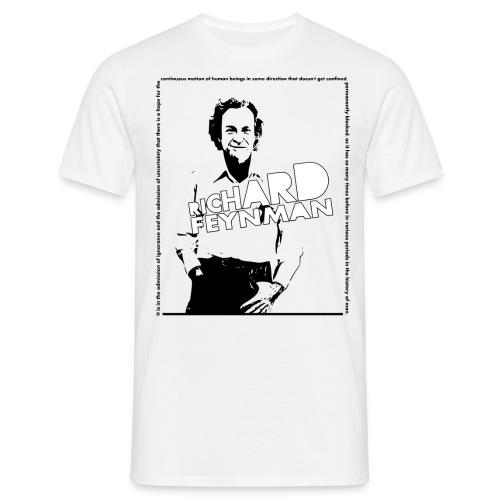 Richard Feynman - Men's T-Shirt