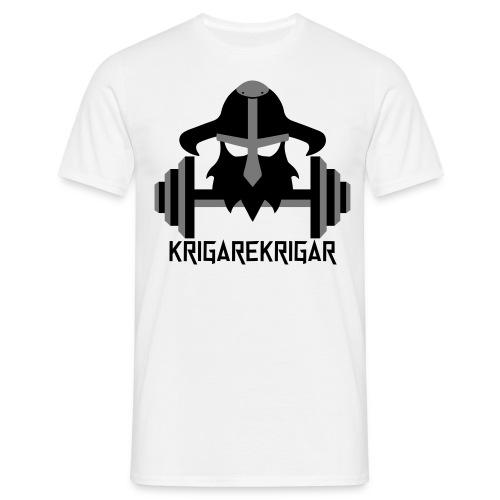 krigarekrigar_vektor_svar - T-shirt herr