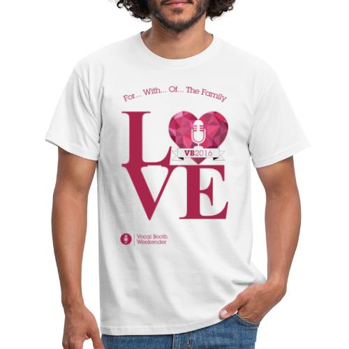 VB2016_LOVE - Men's T-Shirt