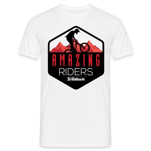 AMAZING RIDERS WILDTRACK - Camiseta hombre