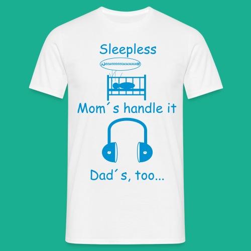 Sleepless - Männer T-Shirt