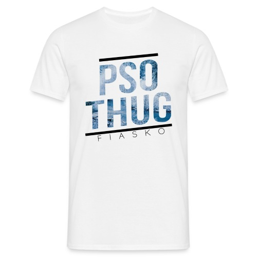 pso thug logo HIVER png - T-shirt Homme
