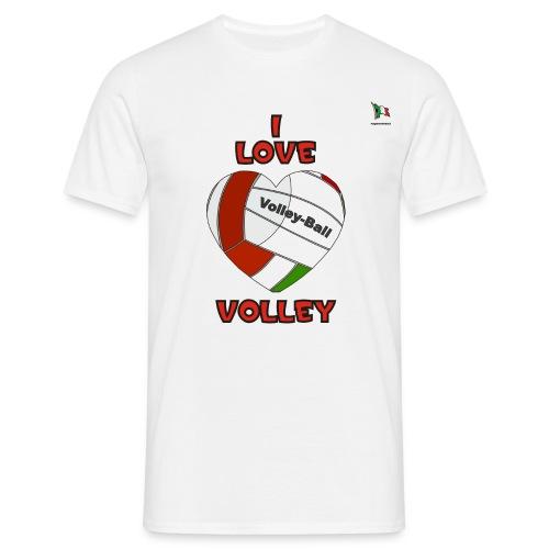 i love volley - Maglietta da uomo