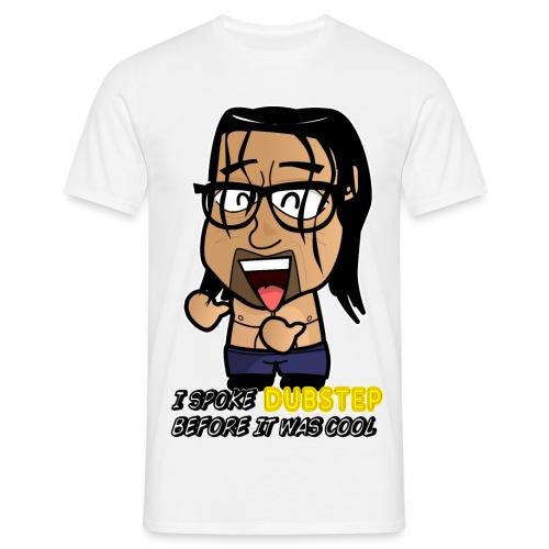 Chibi Khali - Hipster Dubstep - Men's T-Shirt