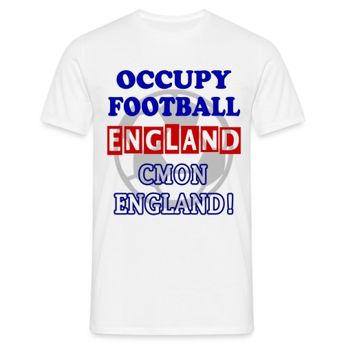 occupy football england - Men's T-Shirt