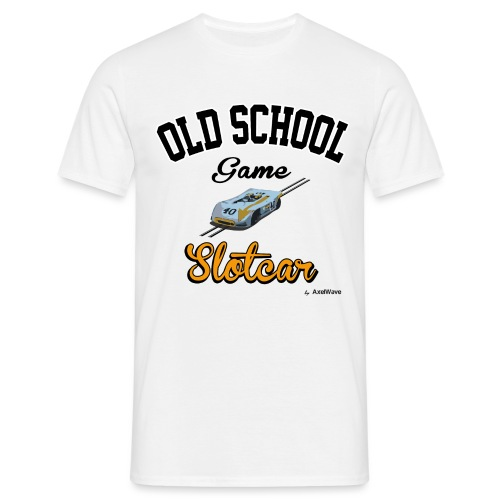 Olschool game Slotcar 1 - T-shirt Homme