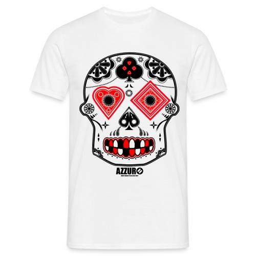 Candy Skull - Men's T-Shirt