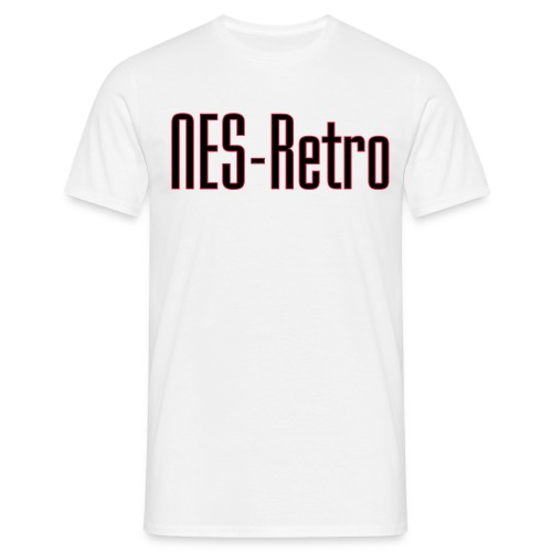 NES Retro Vector - Miesten t-paita