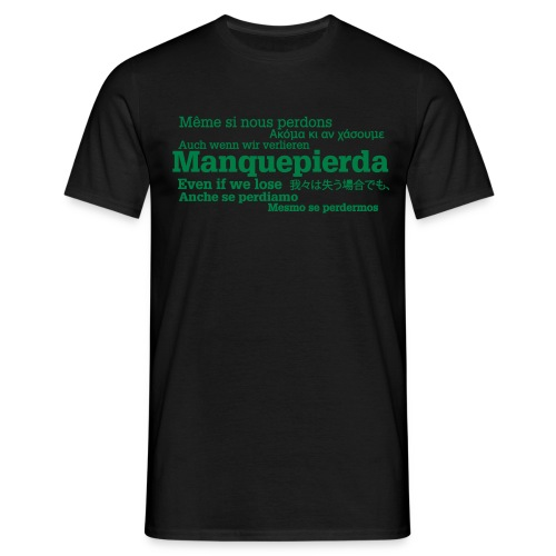 camisetaidiomas2 - Camiseta hombre