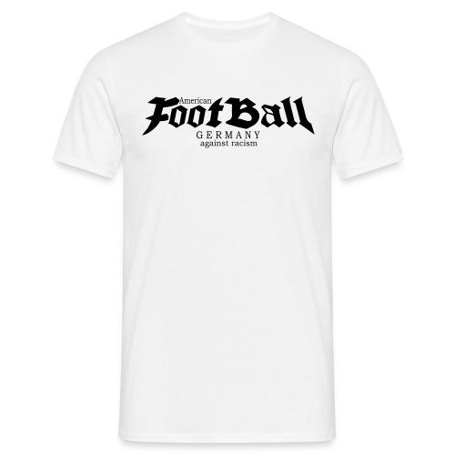 football germany against racism 1 - Männer T-Shirt