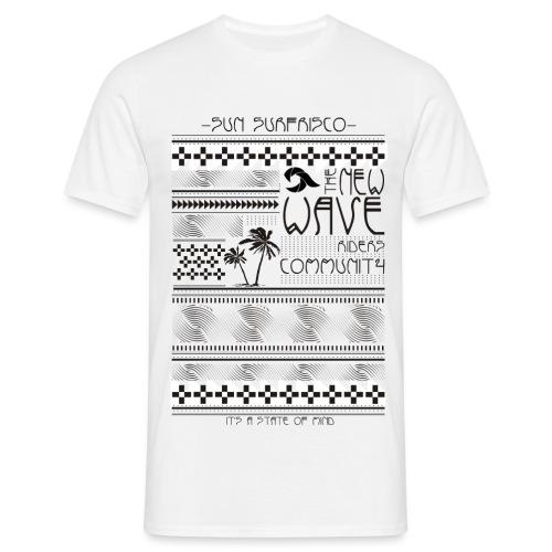 etno surf print - Miesten t-paita