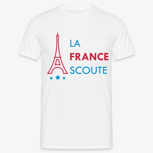 Eiffel Scout - T-shirt Homme