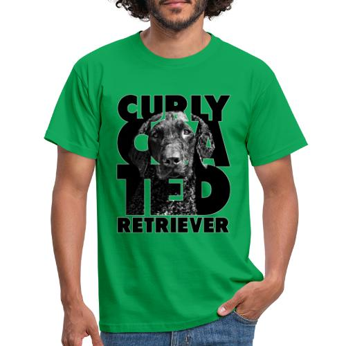 Curly Coated Retriever II - Miesten t-paita