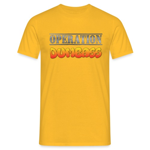 operation dumbass T Shirt png - Men's T-Shirt