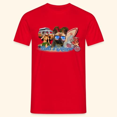 surf bouledogue - T-shirt Homme