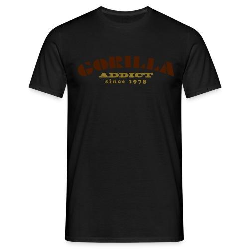 gorillaaddict01 - T-shirt Homme