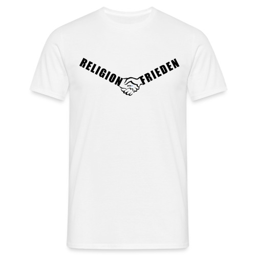 46_Handschlag_01 - Männer T-Shirt