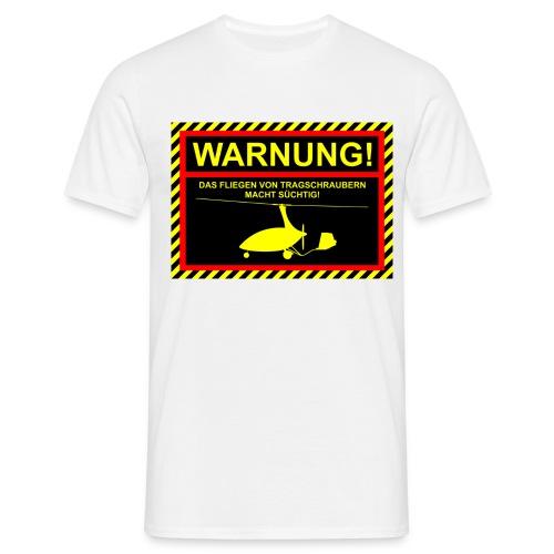 Tasse Warnung CALIDUS - Männer T-Shirt