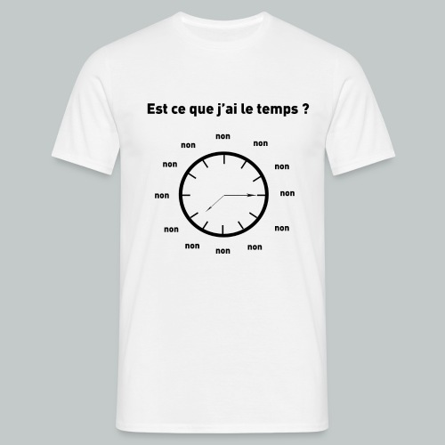 horloge png - T-shirt Homme